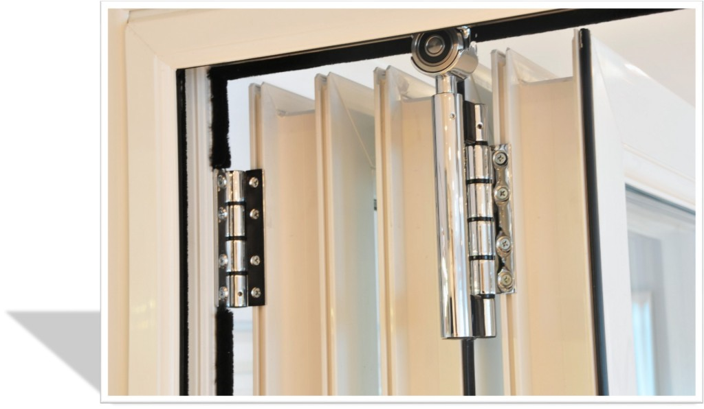 bifold door tracks & hinges