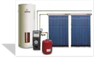 pressured solar thermal system