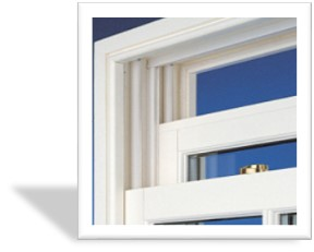 upvc wood grain sash window