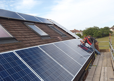 How much is the Solar Panels Feed in Tariff in 2015?