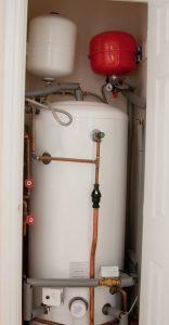 system boiler tank
