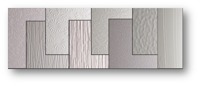 Patterned Glass Selection