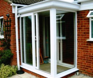 glass upvc porch