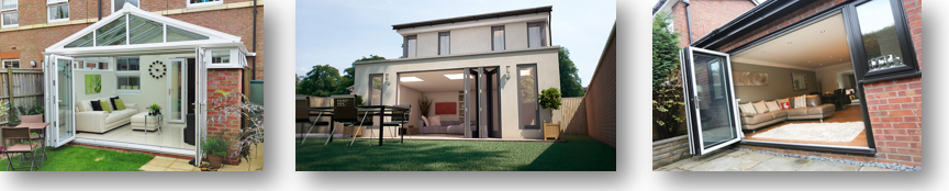 UPVC Bifolding Patio Doors
