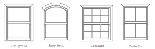 4 Sash Window Designs